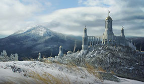 Babel Myth Matte Painting
